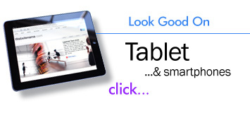 Tablet, smartphone, iPad and iPhone optimized HTML