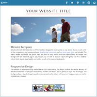 Responsive HTML Minisite Website Templates | Allwebco RWD ...