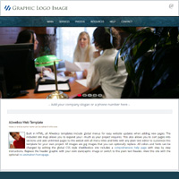 Financial Business Theme