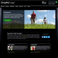 Our Earth: Media edition web template