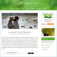 adsense html web templates responsive website design