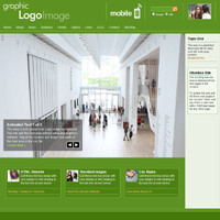 Network Downloadable Business Theme