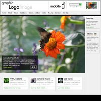 Zen Downloadable Butterfly Theme