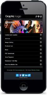 Exec Black Mobile Website Plugin