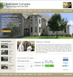 Realtor Gold-DM: Realty website template
