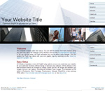 CityScape: Corporate business theme website template