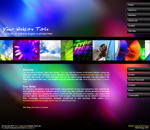 ColorScape: Business spectrum and color theme business website template