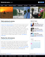 iCalifornia: Tablet web template