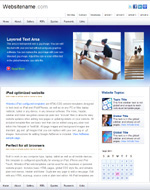 iConnect: iPad and business web template