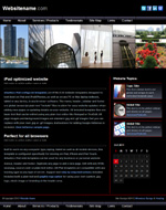 Metro: Tablet web template