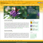 iFlower: iPad optimized web template
