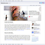iWhite: iPad optimized web template