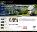 Realtor Black: Realty website template