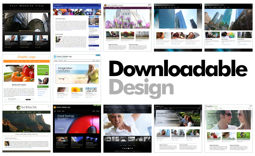 Responsive Stand Alone Websites
