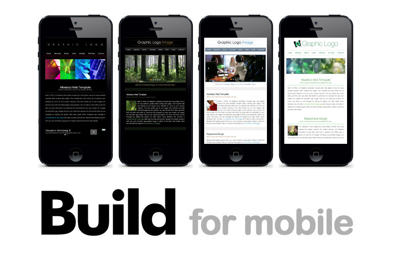 Building For Mobile Devices