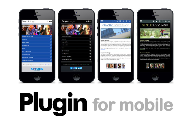 Upgrade For Mobile Using a Web Template Plugin